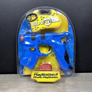 New Sealed Playstation 1 2 PS1 PS2 Mad Catz Light Gun Guncon Blaster 2004
