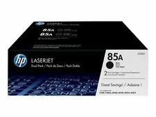 HP Laserjet Dual Pack 85A CE285D 2 Print Cartridges,  Genuine HP