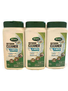 Scotts Plus Oxi Clean Outdoor Cleaner Wipes 3 Pack
