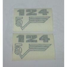 GILERA 124 5V ADHESIVE decalcomanie adesivi decals stickers FIANCHETTI