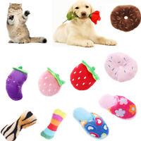 Pet Chew Toys Zapatilla De Felpa Entrenamiento Para Cachorros Perro Squeak