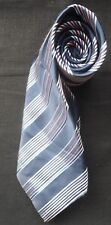 RACING GREEN SILK TIE NAVY BLUE OFF WHITE BABY BLUE & BABY PINK DIAGONAL STRIPES