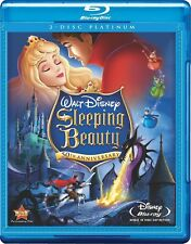 Disney's Sleeping Beauty (Blu-ray Disc, 2008, 2-Disc Set, Platinum Edition)