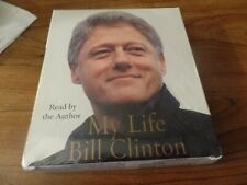 Abridged Book on CD My Life By Bill Clinton NEW #3093