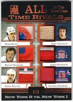 2017-18 ITG Used All-Time Rivals BOSSY/ESPOSITO/TROTTIER/POTVIN++ Patches #1/6