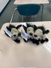 """Disney Lion King Hyenas Plush Bean Bag Lot Ed Banzai Shenzi Disney Store NWT 8"""""""