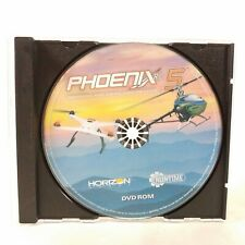 Phoenix RC Professional Radio Control Flight Simulation 5 Simulator DVD ROM m1