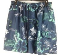 Croft & Barrow Men's XXL Tropical Print Board Shorts Polyester RN# 137834  M2