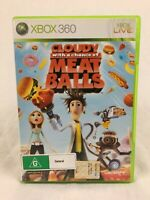 Cloudy With A Chance Of Meatballs - With Manual - XBOX 360 - PAL
