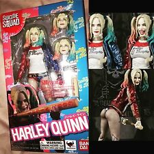 Suicide Squad Harley Quinn Action Figure Bandai Tamashi Nations S.H. Figuarts