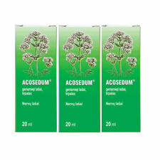 ACOSEDUM - For Nerve System Disorder, Stress- Oral Drops - 20ml 3 Units