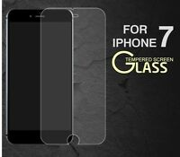 100% GENUINE TEMPERED GLASS SCREEN PROTECTOR FILM FOR NEW APPLE IPHONE 7