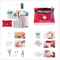 1 Set 63 Pcs First Aid Energency Kit Camping Sport Travel Car Home Medical Bag