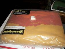 VINTAGE MARLBOROUGH  SOUTHWESTERN ORANGE SCENIC FULL FITTED SHEET NOS With Price