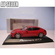 3 x 1:43 Scale Porsche Panamera GTS Diecast Model Pull Back Car Decor 3 Colors