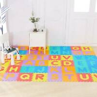 26PC GIANT ALPHABET CHILDREN PLAY MAT FOAM JIGSAW KIDS PLAY GAME FLOOR MATS