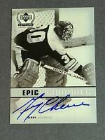 Gerry Cheevers Auto Boston Bruins 1999-00 Upper Deck Century Legends Epic