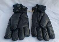 Grandoe leather gloves black men's XL Waterproof glove component system Nylon