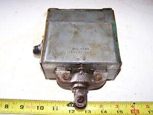 WICO EK Hit Miss Gas Engine Magneto Mag Steam Tractor Oiler Spark Plug Brass