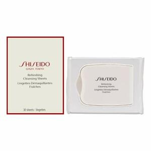 Shiseido Refreshing Cleansing Sheets Cleanses Skin 30 Sheets Ginza Tokyo Sealed!