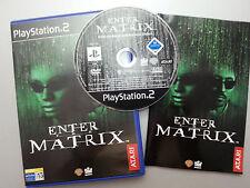PS2 ENTER THE MATRIX , ATARI.