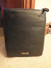 *** iPad 2 / 3 / 4 / AIR BILLY BAG Black Leather Sleeve Case, New ***