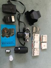 Canon AE1 camera plus lenses, filters and flash