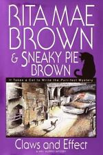 BUY 2 GET 1 FREE: Claws and Effect by Sneaky Pie Brown and Rita Mae Brown