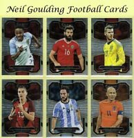 Panini SELECT SOCCER 2017-2018 ☆ TERRACE ☆ Football Cards #1 to #100