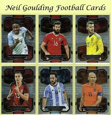 Panini SELECT SOCCER 2017-2018 ☆ TERRACE ☆ Football Base Cards #1 to #100