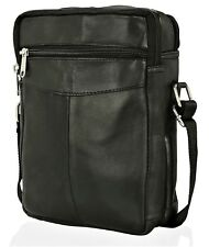 ODS:UK® MENS REAL LEATHER TRAVEL SHOULDER MAN BAG CROSS BODY MESSENGER