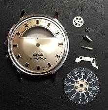 Vintage Vulcain Parking Meter Min Stop Watch Case Dial Parts NOS?