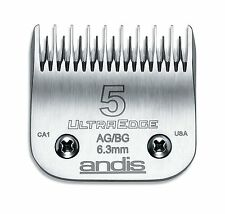 Andis 64079 # 5 UltraEdge Detachable Skip Tooth Clipper Blade