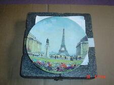 Limoges Collectors Plate LA TOUR EIFFEL
