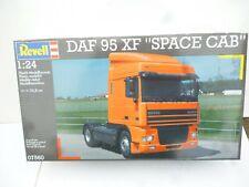 REVELL 1/24 DAF 95 XF Space Cab PLASTIC MODEL KIT PLASTIC KIT  UNBILT