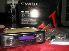 OLD SCHOOL KENWOOD EXCELON KDC-X689 CD-RECEIVER!!  3 PRE-OUTS!!  5 VOLT!!  NEW!!