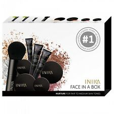 NEW Inika Face In A Box Nuture Certified Organic Essential starter kit