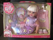 "Cuddly Soft Kelly Sister Barbie Snugle 'n Sniffle 16"" Soft...New In The Box!!!!"