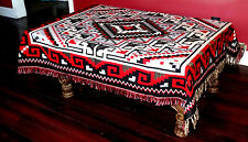 New Reversible Jacquard Accent  Throw  Blanket Southwest  Style Mexican  4' x 5'