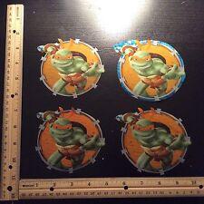 Teenage Mutant Ninja Turtles fabric iron on appliqués  ( style #2)