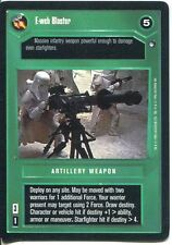 Star Wars CCG Hoth Black Border E-Web Blaster