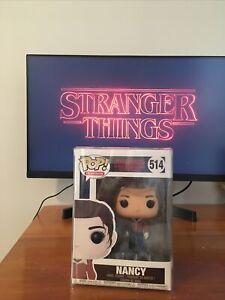 Nancy Stranger Things Funko Pop 514 Rare. Discontinued.