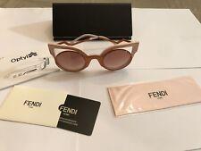 FENDI FF 0137/S NUG ORANGE GLITTER PINK New