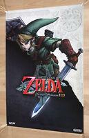 The Legend of Zelda Twilight Princess HD Promo Poster 60x42cm Nintendo Wii U