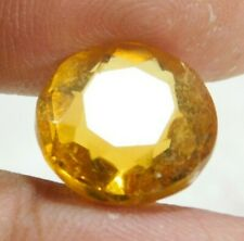 UNTREATED NATURAL 7.50 Cts ROUND CUT  YELLOW SAPPHIRE GEMSTONES RM702