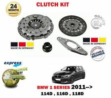 FOR BMW 1 SERIES 114D 116D 118D 6 SPEED MANUAL 2011->NEW CLUTCH KIT 4 PIECE