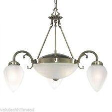 Brass Antique Style 4-6 Ceiling Pendants
