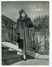 CHRISTMAS AT CREEDS Toronto 1940 Fur Coats Women Accessories Booklet Purses
