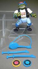 TMNT Rock N Rollin Classic Rocker Leo 100% COMPLETE Teenage Mutant Ninja Turtles