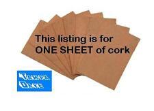"1/16"" Cork Sheet for Repairs: Clarinet, Sax, etc."
